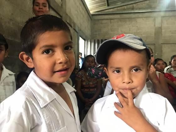 Students in Honduras